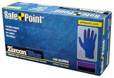 NITRILE Powder Free Exam rubber 4.7 mil Gloves -100 Pcs  disposable  Medium Blue
