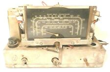 Vintage * RCA 7X RADIO TOMBSTONE CHASSIS & GRAPHIC- Recapped - Works Great on AM