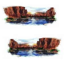 2 RV  KEYSTONE SPRINTER COPPER CANYON GRAPHICS DECALS -47-3