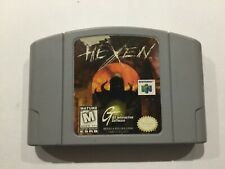 Hexen N64 Nintendo 64 Cart only Cleaned Tested working
