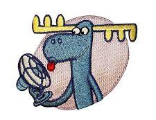 Happy Tree Friends Cartoon Lumpy Moose Fan Iron Badge Applique Patch P2468