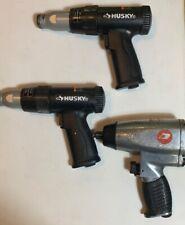 2x Husky H4620 Vibration Damped Medium Stroke Air Hammer 1x Impact Untested Used