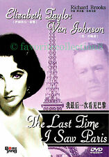 The Last Time I Saw Paris (1954) - Elizabeth Taylor, Van Johnson - DVD NEW