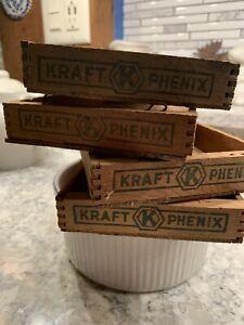 Philadelphia Cream Cheese Wooden Box