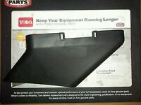 Toro Recycler Lawnmower Discharge Chute 115-8447 Toro Grass Deflector Chute