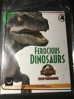 McDonald's Happy Meal 2020 Jurassic World Camp Cretaceous.FEROCIOUS DINOSAURS #4