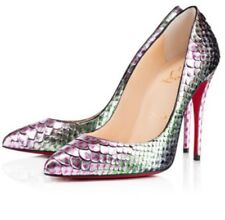 Christian Louboutin Pigalle Follies Snake Python Scarabee EU36.5 UK4 US6-6.5