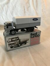 Vintage 80s NZG Conrad 1/50 Ford CARGO Dealer Promotional Rare Made In Germany
