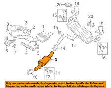 AUDI OEM 16-17 TT Quattro 2.0L-L4-Muffler 8S0253409A