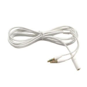 Original Razer Electra V2  Extension 3.5mm Cord Cable Wire To two Device White