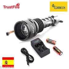 LINTERNA LED TRUSTFIRE TR-DF003 3*CREE XM-L T6 3000LM SUBMARINISMO 26650 LITIO