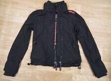 SUPERDRY JAPAN Women's Girls Black Windcheater Jacket Size M