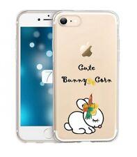 Coque Iphone 7 PLUS 8 PLUS lapin bunny corn cute licorne unicorn