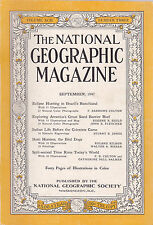 National Geographic September 1947 -- Brazil Eclipse, Great Sand Barrier Reef