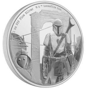 Niue 2 Dollar 2021 - Star Wars™ - The Mandalorian™ Classic (1.) - 1 Oz Silber PP