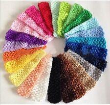 New 26pcs Wholesale Colorful Crochet Kid Baby Girl Headband Headwrap Headwear
