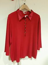 Marks and Spencer No Pattern Cotton Classic Collar Women's Tops & Shirts