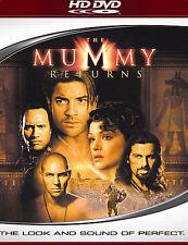 The Mummy Returns HD DVD New Brendan Fraser The Rock + Bonus Features High Def