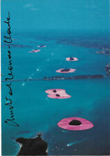 Christo and Jeanne Claude Surrounded Islands original hand signed