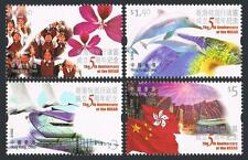 China Hong Kong 2002 5th SAR stamps
