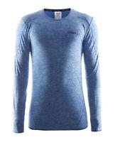 Funktionsshirt CRAFT Active Comfort LS, Herren, lange Ärmel, Kompression, blau