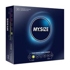 confezione 36 PROFILATTICI preservativi MY SIZE 49MM sexy shop toy 4,9x16 cm