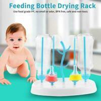Baby abnehmbare Flasche Wäscheständer Fütterung Halter Tassen Trockner X6G5 X9O1