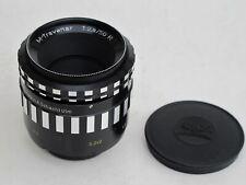 RARE Exakta mount A. Schacht Ulm 50mm f:2.8 R M-Travenar Makro lens caps NICE