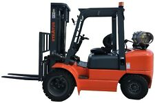 Stratus 6600 lbs **Dual Fuel** Forklift With Mitsubishi Engine & Toyota Seats
