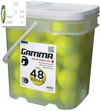 Gamma Pressureless Tennis Ball Bucket| Case Practice Balls| Sturdy/Reusable/Port