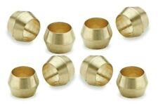 Brass Olives. 4mm. Compression. Pipe fitting. Plumbing. Pack of 5. Top Quality