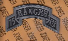 75th Infantry Regiment STB AIRBORNE RANGER ACU No Hook & Loop scroll patch 1-F
