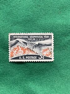 International Geophysical Year 1957-58 3 Cent Stamp