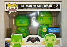 Funko Pop BATMAN V SUPERMAN 2-Pack Glow In The Dark Walmart Exclusive