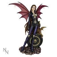 VIOLETA VAMPIRE WINGS LARGE LADY ORNAMENT BRAND NEW NEMESIS RESIN FIGURINE BOXED