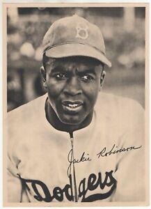 1947 Jackie Robinson Brooklyn Dodgers source: b/w team photo pack Rookie?