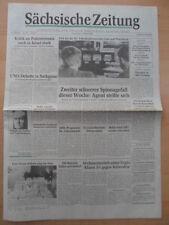 SÄCHSISCHE ZEITUNG 11. Oktober 1990 Donnerstag Dresden Sachsen