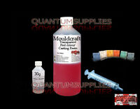 500g MOULDCRAFT TRANSPARENT RED COLOUR CASTING RESIN KIT USE WITH JEWELLERY