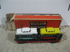 Lionel 6414 Automobile Car Carrier with 4 Cars in Original Box