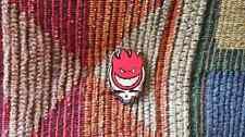 Dead Head Red Steal Your Fire Skateboard Parody Skull Enamel Lapel Hat Pin