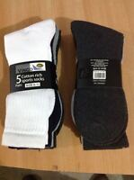 High Quality Mens Cotton Rich Sport Socks work men size 6-11 pack 3, 6, 12 Pairs
