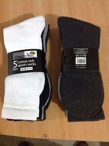 Premium Quality Sports Socks Mens Cotton Rich Work Socks- 12 pairs, 24 Pairs