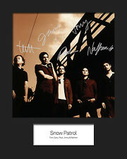 SNOW PATROL #2 10x8 SIGNED Mounted Photo Print - FREE DELIVERY