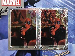 2020 Upper Deck Marvel Masterpieces Holo-Foil Deadpool lot