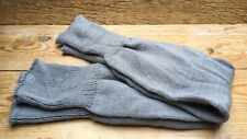 Vintage 80's Grey Knitted Leg Warmers/Disco/Fancy Dress/Retro Costume