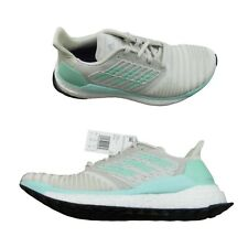 Adidas Solar Boost Clear Mint Raw White Running Shoes Women's Size 9 NEW D97432