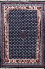 Geometric Botemir Paisley Oriental Area Rug Hand-knotted Wool Kitchen Carpet 4x6