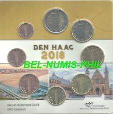 NEDERLAND 2018 - Den Haag - FDC-set met 8 munten
