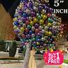 "5""INCH CHROME BALLOONS METALLIC LATEX PEARL Helium Baloon Birthday Party UK"