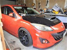 RPG Fiberglass Hood Scoop for 2010-2013 Mazdaspeed 3 Mazda 3 MPS